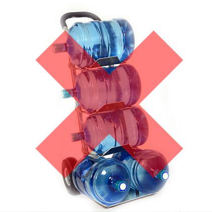 No more heavy plastic bottles